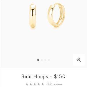 Mejuri- Bold Hoops